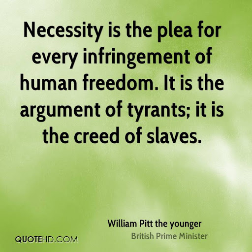 David Whitehead – William Pitt (Jnr): 'The Argument Of Tyrants The Creed Of Slaves'