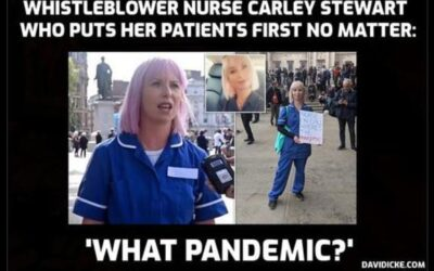 David Icke Interviews Carley Stewart – Fired For Speaking Her Truth About Lockdown Crimes Against Humanity